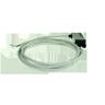 FS1/0P-C Photo-Electric Switch Amp. For Optical Fibre, 2m Cable DC NO/NC PNP Sn = Fibre Dependent